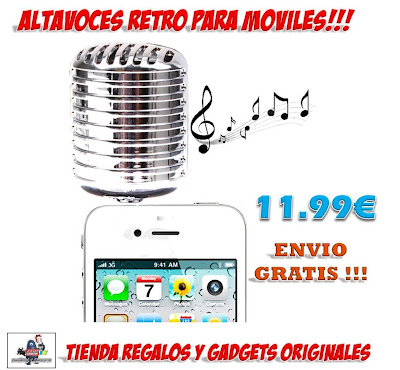 altavoces retro iPhone