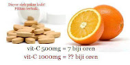 Vitamin C Tablet Murah