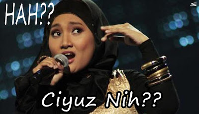 gambar komen facebook Hah Ciyuz Nih Versi Fatin Sidqia Lubis