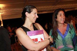 Carla Guarita e Beatriz Yunes.