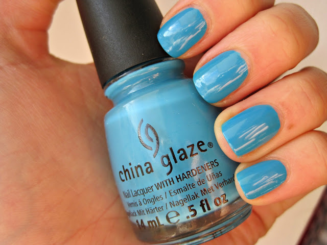china glaze sunday funday swatch and review