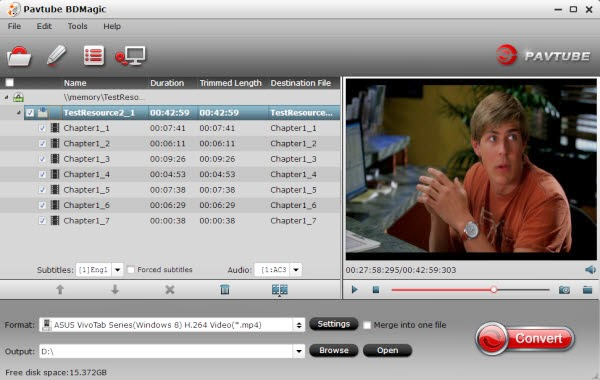 Blu-ray Ripper for VivoTab 8