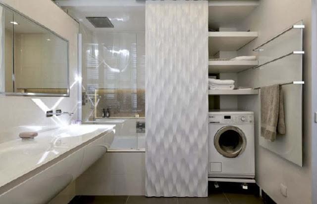 Idee deco salle de bain sans fenetre salle de bains - Petite salle de bain sans fenetre ...