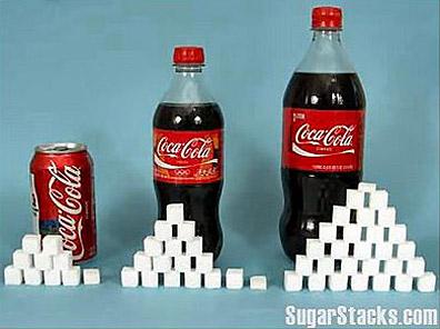 sockerbitar i läsk