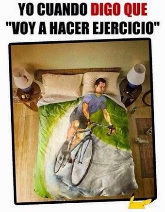 cuando digo voy a hacer ejercicio