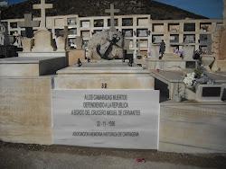 """IN MEMORIA A LOS MARINOS DEL CRUCERO REPUBLICANO """"MIGUEL DE CERVANTES"""""""