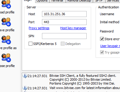 Free SSH Server Indonesia Support PPTP, UDP, Squid 21 Oktober 2014