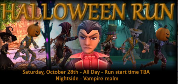 Halloween Run: Oct 28