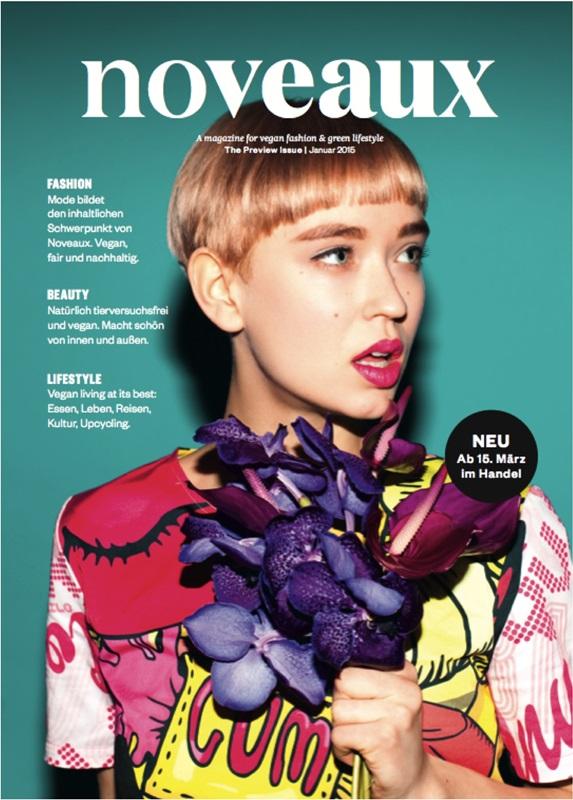 Vegane Zeitschrift Noveaux