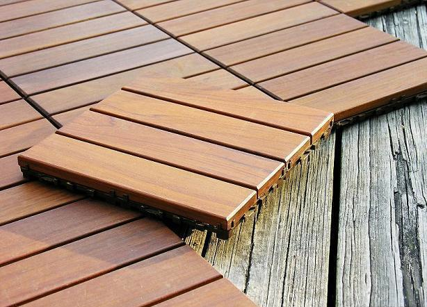 Just Lay Interlocking Deck Tiles Over A Plan Concrete Patio, Dated Pool  Deck Or Bland Walkway. These Snap Together ...