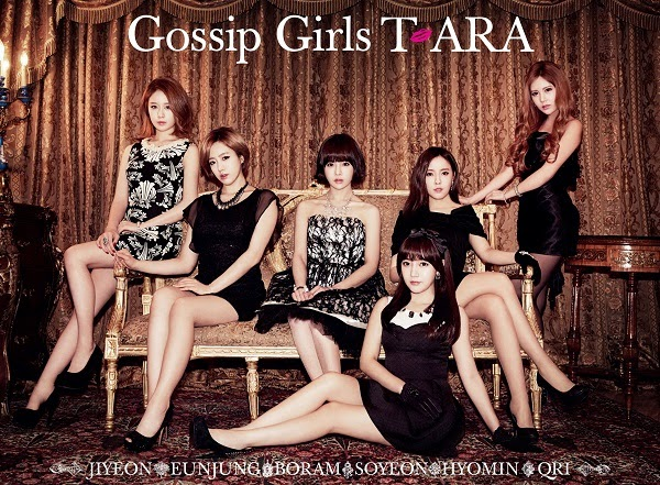 [ALBUM] T-ARA - Gossip Girls