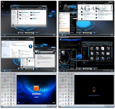 Alienware Skin Pack Windows 7 2