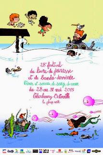 + d'infos : festival du livre de jeunesse & de bande dessinée de Cherbourg-Octeville