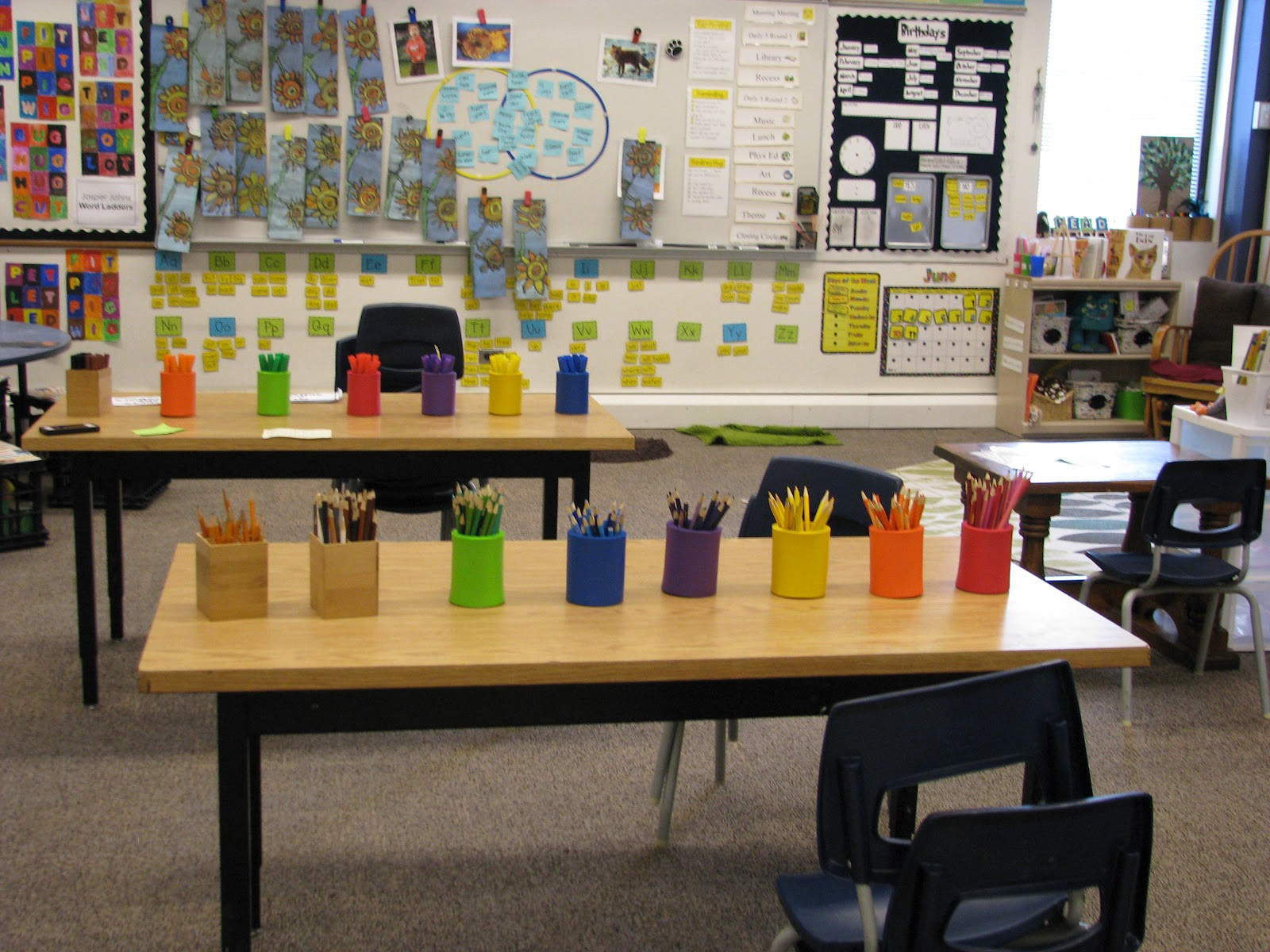Table Number Holders Michaels The Reading Corner: My Classroom