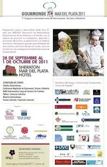 Primer congreso Latinoamericano de Gastronomía, Turismo y Hotelería   Del 28 de Septiembre al 1 de