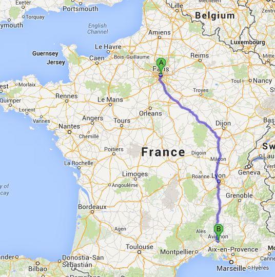 The rose record day 5 provence for Train paris salon de provence