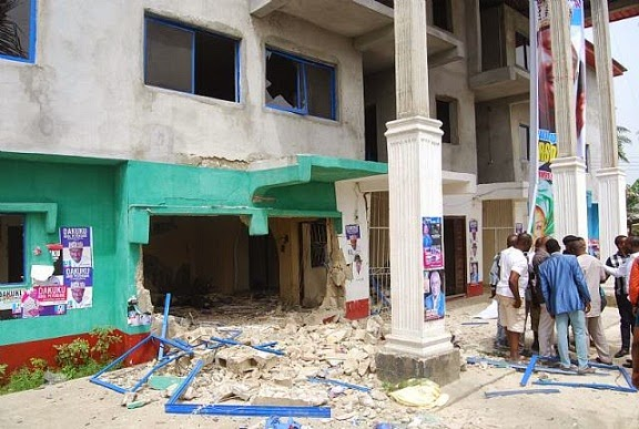 Gunmen Blow Up Rivers APC Secretariat chiomaandy.com
