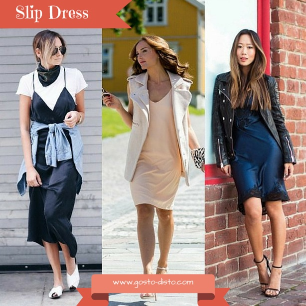 Como usar slip dress