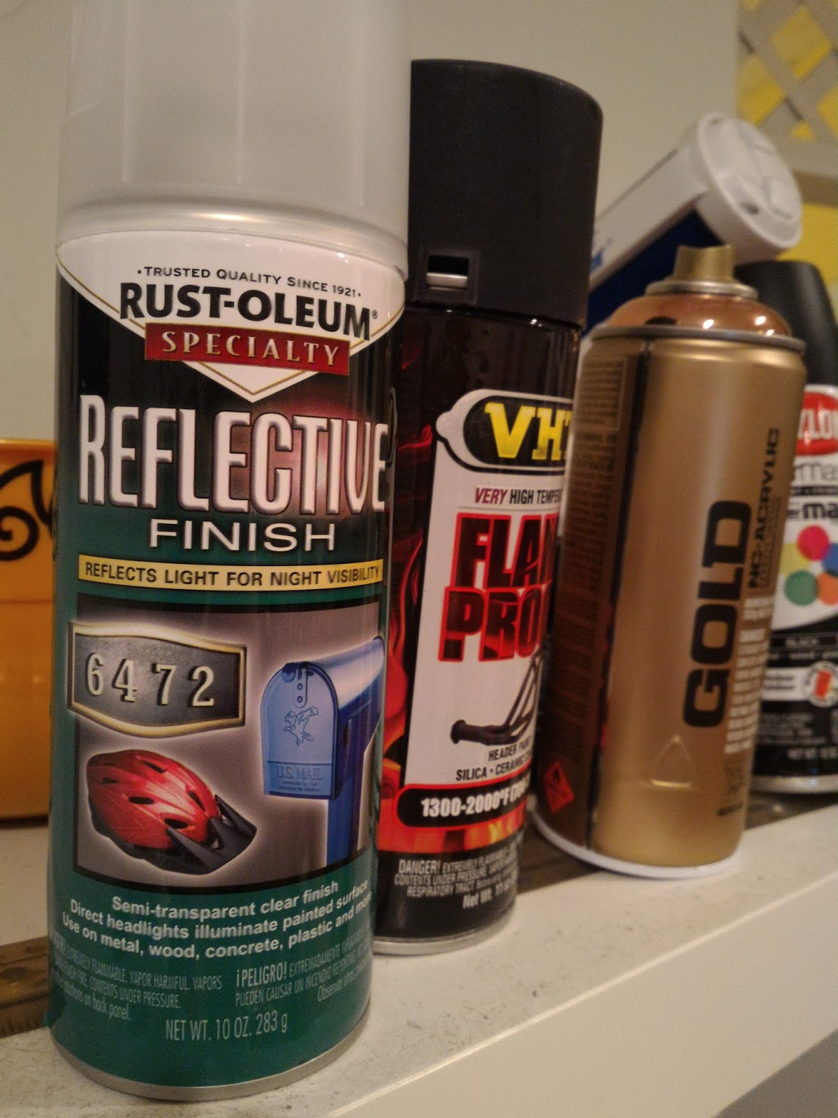 Reviewguru Rust Oleum Reflective Finish