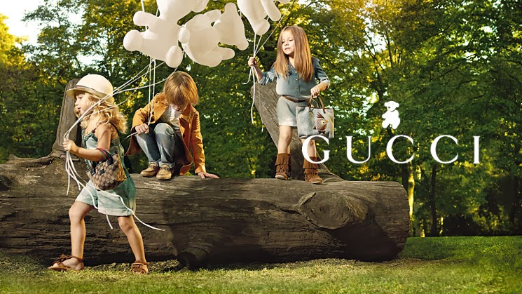 gucci spring summer 2012 kids campaign