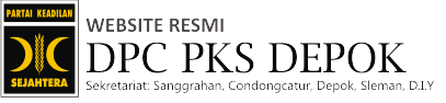 Blog Resmi DPC PKS Depok Sleman