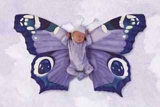 niño mariposa