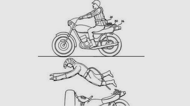 Ropa de seguridad para montar en motocicleta