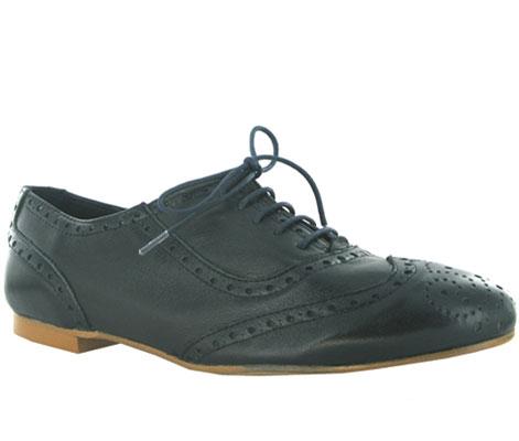 zapatos blucher mujer
