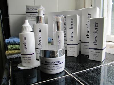 Theraderm Skincare Line
