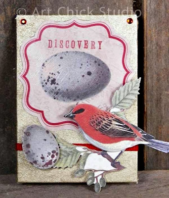Discovery Altered Art