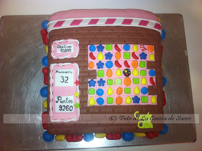 tarta Candy Crush
