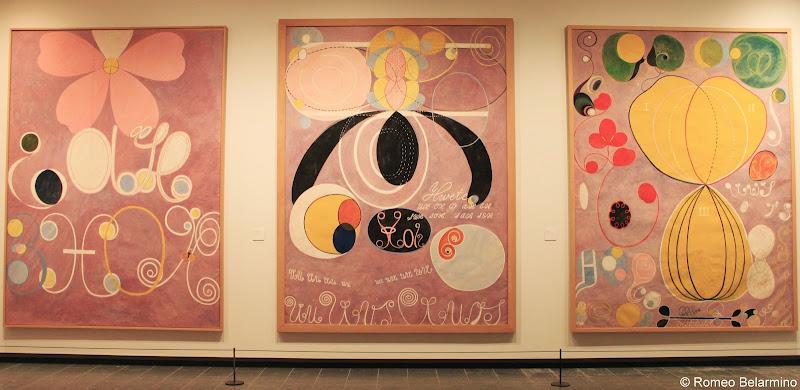 Hilma af Klint Exhibit Louisiana Museum of Modern Art Humlebæk Denmark