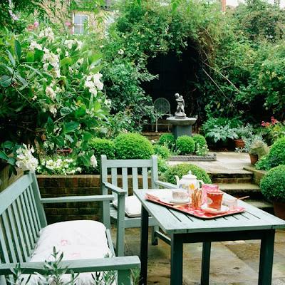Um jardim para cuidar aproveite a sombra do seu jardim - Exterior furniture paint gallery ...