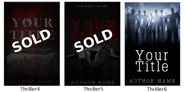 pre designed book covers ebook thriller suspense horror