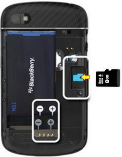 Cara Aman Melepaskan Kartu Memory dari Blackberry