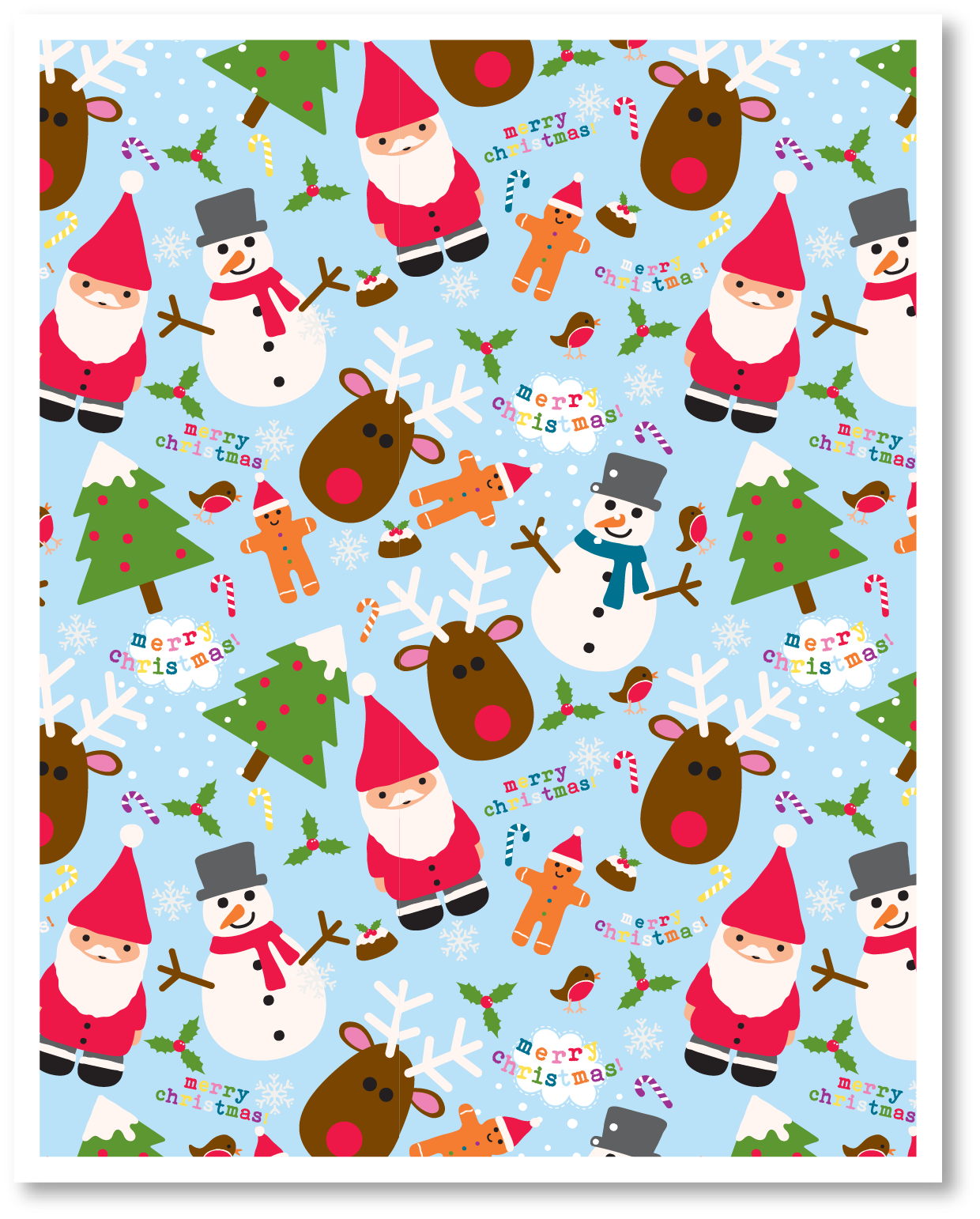 It's just a picture of Impeccable Christmas Printable Paper