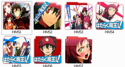 Hataraku Mou Sama Anime Folder Pack Icon
