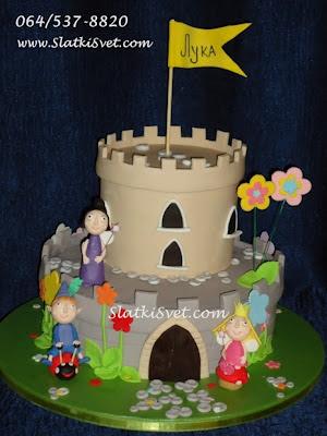 Torta Ben i Holi - Decije - Rodjendanske - Torte