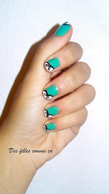 preppy nails des filles comme