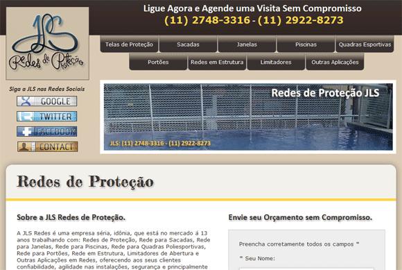 Site Redes de Proteção JLS
