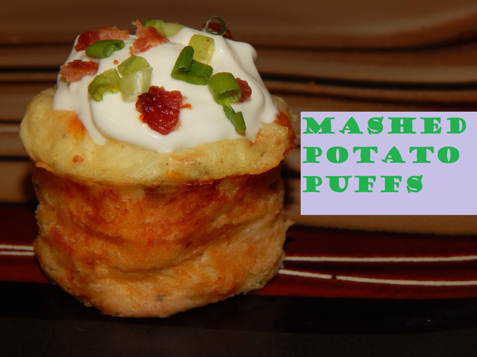 Valerie's Attempt at Pondering: Mashed Potato Puffs