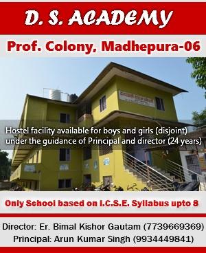 D S Academy Madhepura