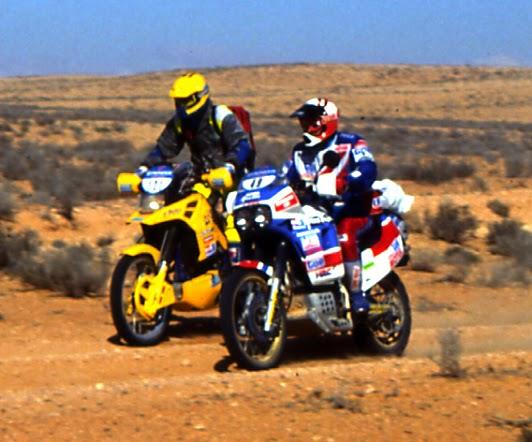 Paris Dakar Honda Yamaha Suzuki KTM BMW