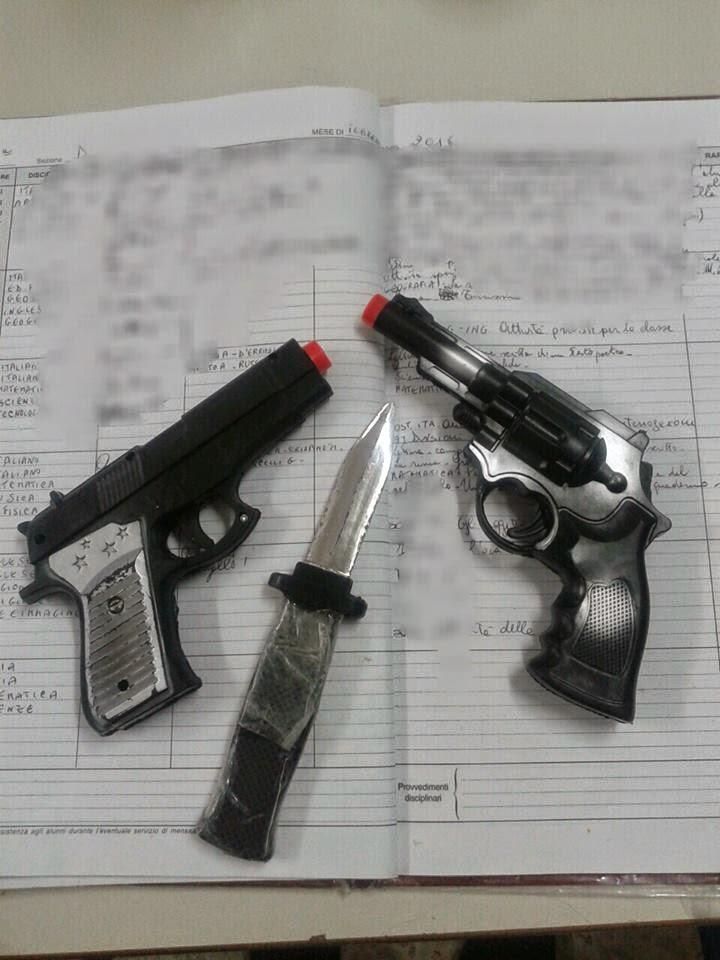 armi nelle nostre scuole