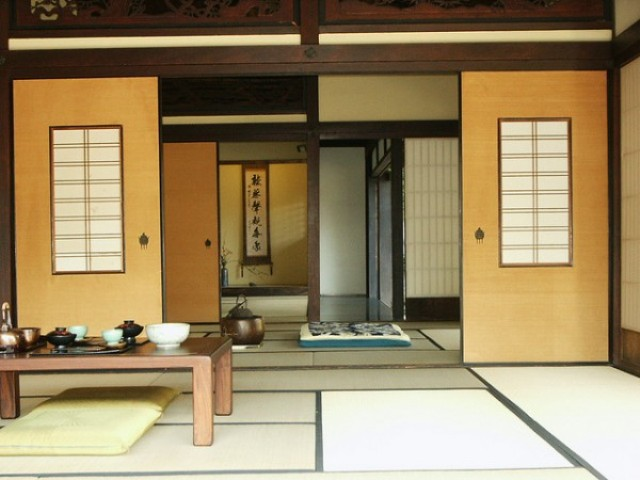 The Modern Interior Design Japanese House Is Not Very Different From The  Traditional. Still Has The Opening, The Landscape Zen And Natural Materials.