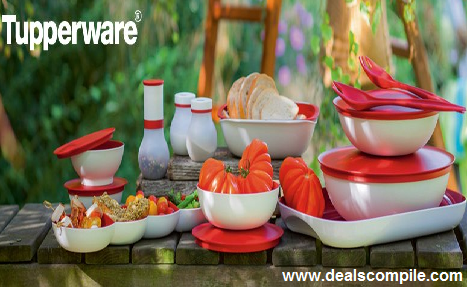Tupperware upto 55% off + 30% off + 15% off – Snapdeal