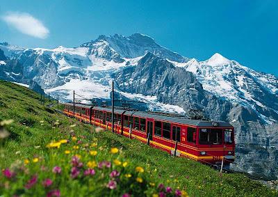 Kereta+Jungfraubahn