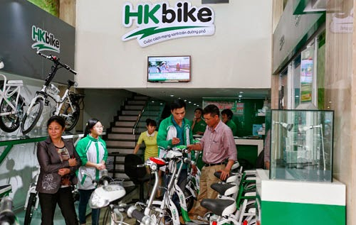 Rất nhiều khách hàng đã mua xe vẫn tiếp tục trung thành với dòng sản phẩm HKbike.