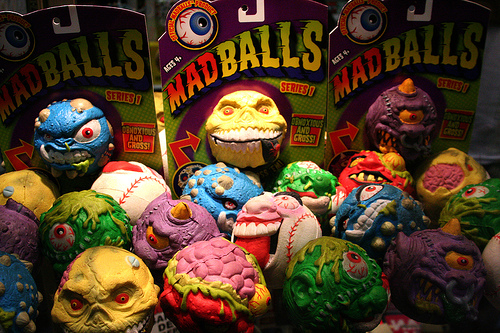 90s Toy Ball : Guts and grog jacob vonklingele has a question is that