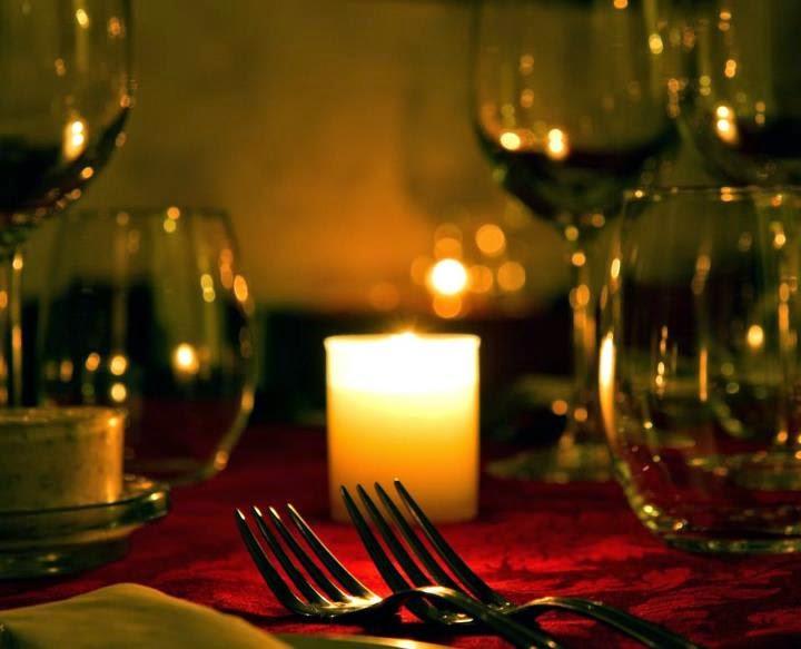 Candle light dinner - blind date joke